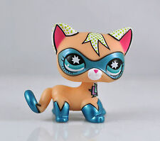 Cute Littles Pet Shop LPS Super Cat Short Hair  Child Girl Loose Auction Figure