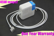 45W T-tip AC Power Charger Adapter For Apple Macbook Air MagSafe 2 A1436