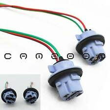2pcs 7440 T20 Wedge Bulb Socket Brake Turn Signal Light Harness Wire LED Plug