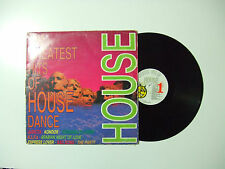 The Greatest Hits Of House -Disco Vinile 33Giri LP Compilation Mixed ITALIA 1989