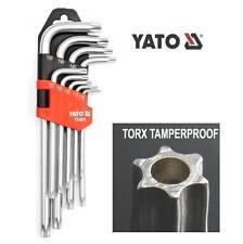 Yato torx a prueba de manipulación puntas de seguridad con agujero,T10-T50