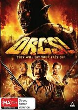Orcs! (Disc Only Come In Blank Case) DVD Region 4 (VG Condition)
