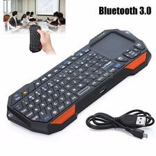 3en1 mini LED BLUETOOTH V3.0 Inalámbrico TECLADO+RATÓN+TOUCHPAD Para Android iOS