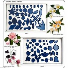 Jem cake decorating Flower Cutters set 1  - sugarcraft flowers NEXT DAY DESPATCH