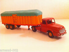 Dinky Toys - 36 B - Tractor Willèmes and Semi-trailer Fruehauf N Mint
