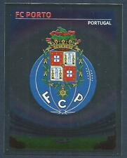 PANINI UEFA CHAMPIONS LEAGUE 2007-08- #281-PORTO TEAM BADGE-SILVER FOIL