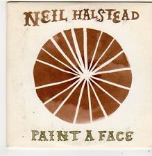 (FI863) Neil Halstead, Paint A Face - 2008 DJ CD