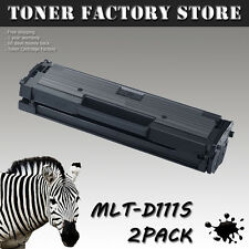 2PK MLT-D111S Toner Cartridge For SAMSUNG Xpress SL-M2020W SL-M2070W SL-M2070FW