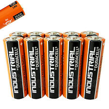 10 Duracell AA batteries Industrial Procell Alkaline LR6 MN1500 MIGNON EXP:2022