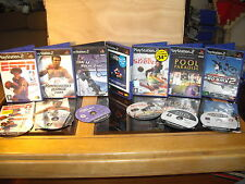 PS2 games Bundle Job Lot x 7 Knockout kings Fifa Street BMX Sky Surfer ESPN