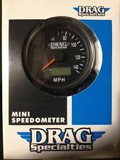 MINI BLACK SPEEDOMETER LED TRIPMETER ODOMETER 2:1 RATIO FRONT WHEEL DRIVE NEW