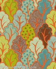 Moda - Neco - Abstract Shrubbery - Spiced Orange - cotton quilting fabric