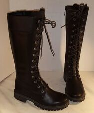 NEW WOMEN'S TIMBERLAND 14 INCH PREMIUM SIDE ZIP LACE WATERPROOF BOOTS US 7