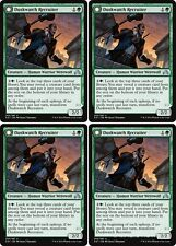 4x DUSKWATCH RECRUITER Shadows over Innistrad MTG Green Creature — Werewolf Unc
