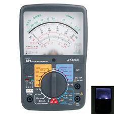 New KT8260L Test Pen Analog Multimeter ACV/DCV/DCA/Electric Resistance Tester UK