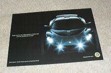 Lotus exige double face flyer c 2005