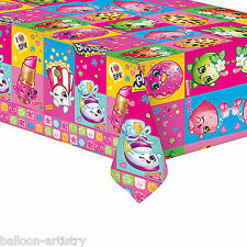 138cmx183cm Shopkins Toys Children's Birthday Party Plastic Table Cover