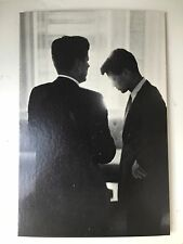 1969 Jacques Lowe Portrait Of John F & Robert Kennedy From Studio One #345 Boxes