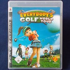 Ps3-playstation ► Everybody 's Golf: world tour ◄ dt. version | excellent état