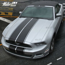 2013 2014 Ford Mustang Convertible Rally Racing Double Stripes Decal Pre-cut kit