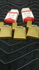 "Storm Master Bowers Gold Tone Lighter ""Mortons"" The Tastemakers-lot of 3"