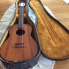 vintage kamaka 6 string tenor ukulele