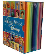 The Magical World of Disney 30 Books Collection Box Set Mickey Mouse, Peter Pan