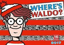Cal 2017-Where's Waldo? by Martin Handford (2016, Calendar)