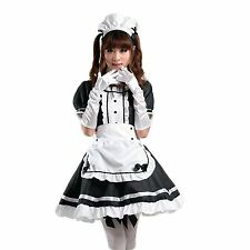 Anime Cosplay Costume French Maid Outfit Halloween S (4) USA Seller