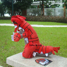 "Pokemon Go Groudon 13"" Plush Toy Game Cool Mega Cuddly Stuffed Animal Doll Gift"