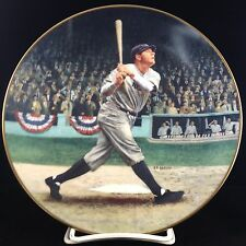 """Babe Ruth: The Called Shot"" Collector Plate"