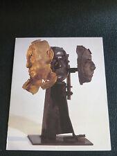 """CÉSAR carton """" PICASSO """" expo. C.Bernard Paris 1998 Nouveaux Réalistes Sculpture"""