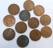 COLLECTION of BRITISH ONE PENNY COINS - 1916 to 1967