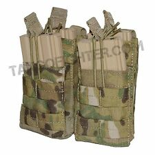 CONDOR MA43 MULTICAM MOLLE Double Stacker 5.56 mm Mag Pouch open top pull tab