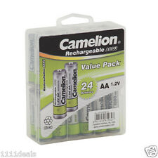 Camelion AA Ni-Cd Solar Light Batteries 1000mAh 24 pack