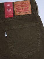 Men's Levi's 511 Slim Fit Trouser Cords Pants
