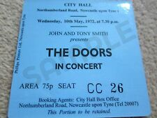 Doors/Jim Morrison Concert Coasters Ticket May 1972 High quality coaster