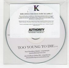 (GG874) K, Too Young To Die - DJ CD