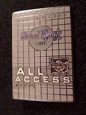 Hard Rock Cafe pin All Access -Membership Card    #13128