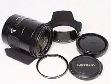 Near mint Minolta 35mm F/1.4 AF Lens for Sony Alpha Made In Japan
