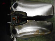Fat Bob 5 Gallon Split Steel Gas Tank Tanks 47-1984 Harley Shovelhead Panhead