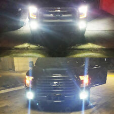 2 x 2015 2016 Ford F150 F250 HD Xenon White CREE High Power LED Fog Lights Bulbs