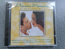 PRECIOUS MOMENTS 20 ROMANTIC HITS - VARIOUS ARTISTS - CD - ALBUM - (NEW SEALED)