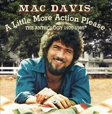 MAC DAVIS - A LITTLE MORE ACTION PLEASE: THE ANTHOLOGY 1970-1985, New Not Sealed