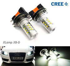 80W CREE XB-D LED H15 for VW Audi Mercedes BMW Projector Daytime Running Light