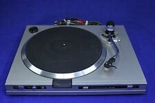 Vintage SANSUI FR D35 direct drive auto return turntable w Audio Technica cart