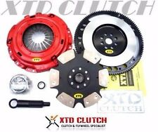 XTD STAGE 4 MIBA CLUTCH & FLYWHEEL KIT 88-91 CIVIC CRX SiR EF8 EF9 B16A (1700)
