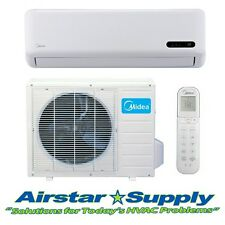 9,000 BTU 15 SEER Ductless AC Mini Split Air Conditioner / Heat Pump 115 VOLT