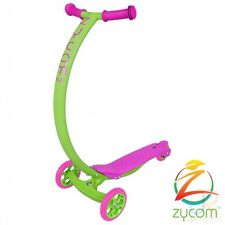 Zycom C100 Cruz Kids Mini Scooter - Lime / Pink
