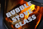BUBBLE STOVE GLASS No 1,2,3, SHAPED HIGH DEFINITION - MADE TO MEASURE AVAILABLE